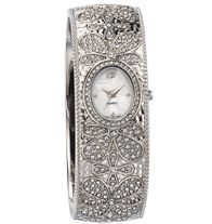 Floral Embellished Bangle Watch $24.99 @ www.youravon.com/sgobble