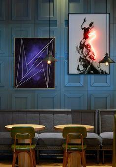 DeSallesFlint creates maritime-themed interiors for Puro Gdansk hotel