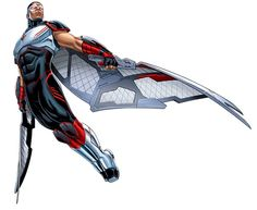 A social worker turned hero, Sam Wilson's bleak outlook on life was wiped away the day he met Captain America. Using a winged costume and his remarkable combat prowess and avian telepathy, he became the Falcon - defender of Harlem. Marvel Comics Superheroes, Marvel Comic Books, Marvel Heroes, Marvel Jokes, Marvel Comic Universe, Comics Universe, Marvel Cinematic Universe, Avengers Characters, Book Characters