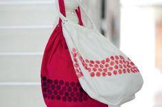 DIY Bubble-Wrap Tote Bag