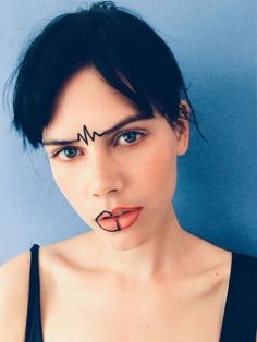"""I didn't know you could wear eyeliner there"" (Isamaya ffrench)"