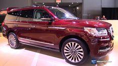 2018 Lincoln Navigator - Exterior and Interior Walkaround - Debut 2017 N...