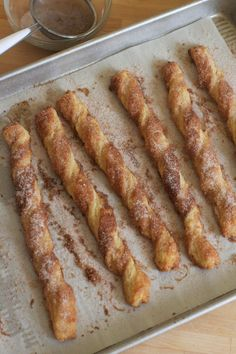 Cinnamon Twists!! (plus quick puff pastry how-to)- via The Baker Chick