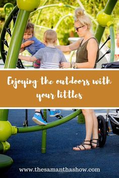 Enjoying the outdoors with your littles. - The Samantha Show #MothersOfNature #sponsored