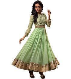 Designer Salwar kameez Anarkali Indian dress BOLLYWOOD Pakistani Ethnic suit f10