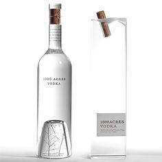 1000 Acres Vodka by Arnell #packaging