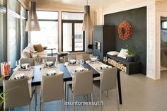 16 Villa Merengue - Olohuone / ruokailutila @ Loma-asuntomessut Kalajoella