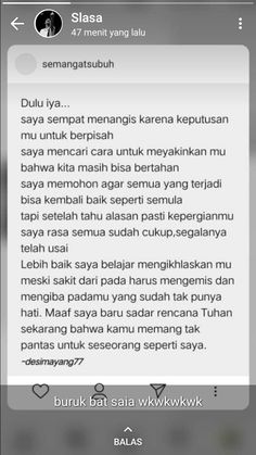 Sad Quotes, Qoutes, Love Quotes, Instagram Quotes, Instagram Story, Q And A Questions, Cinta Quotes, Quotes Galau, Self Reminder
