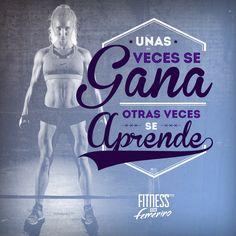 Unas veces se gana, otras veces se aprende. Fitness en femenino. Sport Motivation, Weight Loss Motivation, Fitness Quotes, Fitness Life, Kickboxing, Just Do It, Gym Workouts, Kicks, Positivity