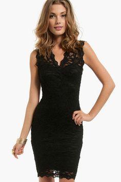 Laced Surely Dress $30 at www.tobi.com
