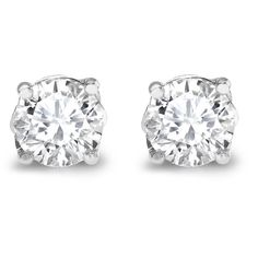 Asprey Round Brilliant Cut Diamond Stud Earrings ($27,530) ❤ liked on Polyvore featuring jewelry, earrings, accessories, brincos, bijoux, stud earrings, earring jewelry, diamond earring jewelry, asprey jewelry and round diamond earrings