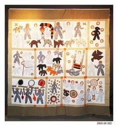 Details about fantastic !!! AFRICAN AMERICAN ARTIST E.J. ... : harriet powers bible quilt - Adamdwight.com