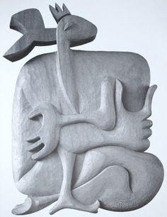 """Le Corbusier, """"La Biche - No. 37"""", 1963"""
