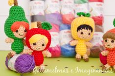 Free Patterns: ♪♫ ¡Fiesta, fiesta! ¡Las frutillas felices vienen con sorteo! ♪♫ | Gallimelmas e Imaginancias