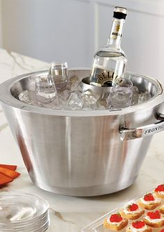Love this ice tub. Bet Dad does too. Happy Father's Day from GardenLivingStudio.blogspot.com. #icetub
