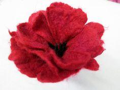 How to Felt Flowers -- Workshop at Red Brick Gallery | Felt Evolution