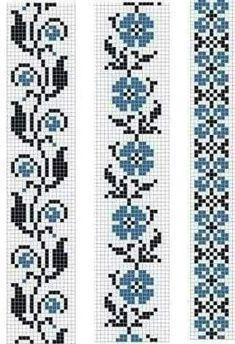 Easiest Crochet Frills Border Ever! Cross Stitch Bookmarks, Cross Stitch Borders, Crochet Borders, Cross Stitch Flowers, Cross Stitch Designs, Cross Stitching, Cross Stitch Embroidery, Embroidery Patterns, Cross Stitch Patterns