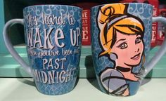 "Cinderella ""It's hard to Wake Up when you've been out Past Midnight"" Mug Enlarged Picture"