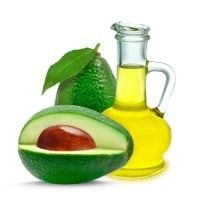 Avocado And Flask Of Oil