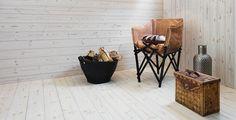 Golv från Baseco - massiva trägolv, furugolv och grangolv Planter Pots, Sweet Home, Relax, Lappland, Flooring, Interior, Wellness, Home Decor, Decoration Home