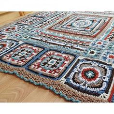 This blanket has been inspired by the character 'Ross Poldark' from the very popular BBC Poldark series and follows on from the huge success of Catherine's Demelza blanket. She has used a colour palete drawn from the costumes worn in the series by Ross Poldark which feature classic shades with highlights of colour. Catherine has incorporated lots of inspiration from the Cornish setting, including crossroads and breaking barriers into each square. The Crochet Along is starting on 1...