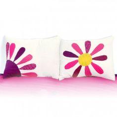 My Little Angel Flower Face Matching Pillow Covers (1 Pair)