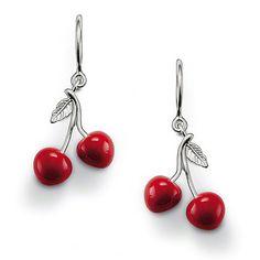 15f43fb8a Thomas Sabo - Cherry Earrings Thomas Sabo, Cherry Earrings, Cherry Baby,  Elegant Watches