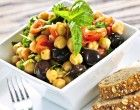 A Refreshing Chickpea Salad With Lemon & Parmesan Tossed With Fresh Herbs