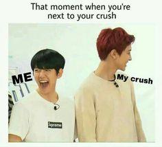 You're Next, That Moment When, Chanbaek, My Crush, Chanyeol, Crushes, Kpop