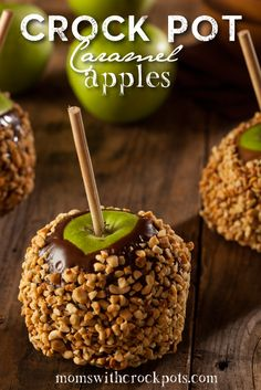 Share Tweet + 1 Mail I love making and eating Caramel apples for a fun fall treat, but I hate heatin ...