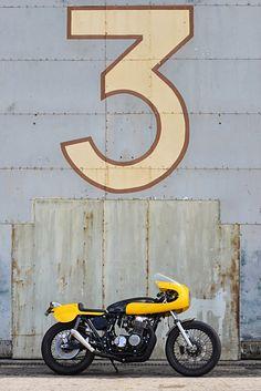 Honda CB 750 Cafe Racer by RedMax Speedshop