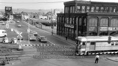 Monsaintroch – Saint-Roch dans les années 1960 (3): chemin de fer de la rue du Prince-Édouard Quebec Montreal, Quebec City, Chute Montmorency, Saint Roch, Chateau Frontenac, Le Petit Champlain, Canada, Prince, Rue