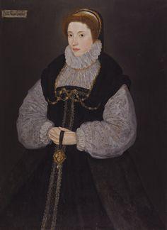 Portrait de Dorothy Latimer, plus tard comtesse d'Exeter, attribué au Maître de la comtesse de Warwick