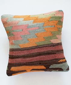 Sorbet Stripe Kilim Pillow