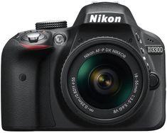 Reflex Nikon Noir + Objectif AF-P VR - Appareil photo reflex - Achat & prix Nikon D3300, Dslr Nikon, Dslr Cameras, Dslr Lenses, Best Dslr, Best Camera, Camera Tips, Camera Hacks, Appareil Photo Reflex