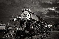 Railpictures.net: Super Big Boy Moon, Steam, Union Pacific