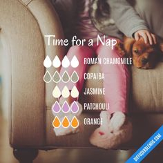 Time for a Nap - Essential Oil Diffuser Blend
