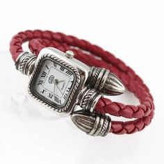 Rarelove Vintage Leather Fashion Lady Womens Bracelet Wrist Watch >>> To view further for this item, visit the image link. Retro Watches, Vintage Watches, Pocket Watch Necklace, Bracelet Watch, Fashion Font, Branded Tote Bags, Vintage Pocket Watch, Fashion Bracelets, Women's Bracelets