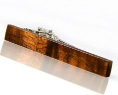 Hawaiian Koa Wooden Tie Bar Hawaiian Koa Wood Tie Clip