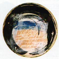 """Beril Anılanmert /Tur/  """"Plate"""" 9 Eylul Universty Ceramic Symposium 1997 (Erdinç Bakla archive)"""