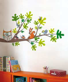 Reading Corner Wall Decal Set