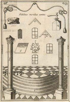 (Pérau, G.L.C.) Das entdeckte Geheimniß der Frey-Mäurer : Lot 1280