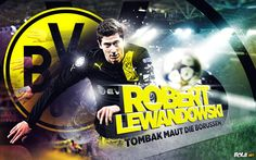 Robert Lewandowski Dortmund Wallpaper HD 2013