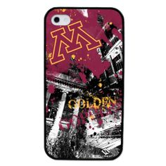 University of Minnesota Golden Gophers - Paulson Designs Spirit Case for iPhone® 4/4S