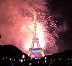 feu d'artifice bruxelles 2015 fete nationale