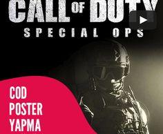 call of duty poster afiş yapma dersi photoshop