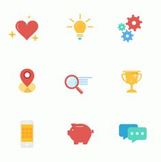 Download this free animated icon set