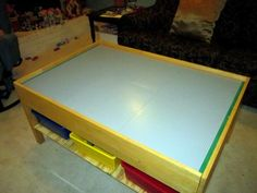 72 best lego tables images lego table play table playroom table rh pinterest com