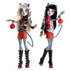 Monster high werecat sisters
