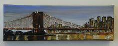 Acrylic Painting - Brooklyn Bridge - www.harrisartstudio.com